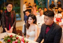 Alex and Natthakarn ROM Coverage plus Roving Instant Print Photography at Equarius Hotel Resort World Sentosa Roaming Actual Wedding Day by The Explosive Booth