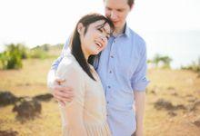 Allen + Jessica | Engagement shoot -Bali by PYARA