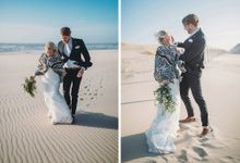 KELLY & MARTIJN ON THE BEACH by Ana Gregorič photography