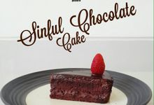 Sinful Chocolate Cake by KREME patisserie