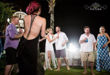 Andrea & Taylor by Silver Lace Weddings & Events Bali