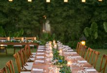 Shades of Blue and Greens BBQ Night by DIJON BALI CATERING
