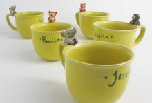 Personalised Mugs by Tekuni Keramik Bali