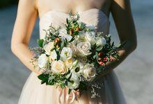 Floral & Garden Wedding Photoshoot by Après Makeup