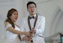 Augustus & Synne // wedding solemnisation // wedding luncheon // CHIJMES wedding // post wedding highlight by Teck Kuan // 2016 by The Next Chapter Film