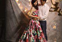 Alvin & Livia Pre Wedding Studio by Dany Lie Portraiture