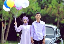 A DAY WITH AYU & AKBAR by ANDARA Photography & Cinema