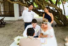 Congratulation to Sarah and Jonathan for the beautiful wedding at The Library Koh Samui by BLISS Events & Weddings Thailand