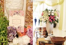 Bella & Khairul - Javanese & Palembangnese Wedding by Le Motion
