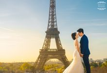 Paris Prewedding by BY WEDDINGS GALLERY