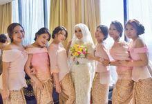 Zyta & Ucla Wedding by Garland Galore Flower Shop