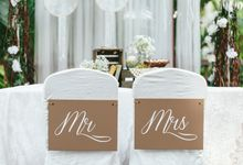 A White Rustic Wedding For Vernon and Jayne by MerryLove Weddings