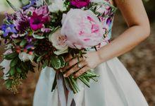 Botanic Gardens Engagement Shoot by Fleurish Floral Design