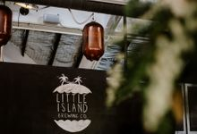 Lovely Industrial Backdrop Styled Shoot by LITTLE ISLAND BREWING CO.