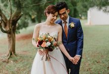Pre wedding with Grace and Marshall by Florals by Benita