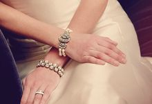 Jewelry on Brides by C & I by Luxe Line