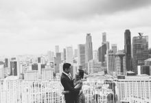 Wedding day photography BW by Glen Sin's Photography