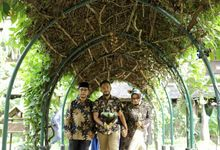 Fani & Novian Engagement by Garland Galore Flower Shop