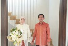 Rina & Farid Engagement by Garland Galore Flower Shop