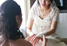 Simple and Elegant Wedding by AngelineThresdy Makeup Artist
