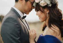 Brandon & Serene Pre-Wedding by Susan Beauty Artistry