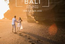 Don't miss our special pre-wedding package for BALI! by Kinema Studios