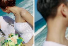 Engagement in Nusa Dua Bali by Maxtu Photography