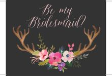 Bridesmaid & Groomsman Card by Scrap And Craft