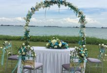 Beach Wedding by Cinderella Dream