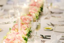 Wedding of B & Saya - Of soft textures and lush touches by Eternal Emotion Weddings