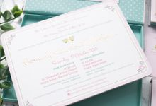 Bernady and Merlynda Wedding Invitation by INK Design & Printing