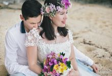 Konstantin and Yulia Honeymoon by Otiga Photo