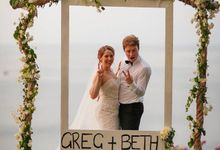 Beth and Greg by Bali Weddings And Events