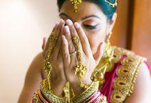 Bharath & Rukshika by Cosmic Bali Photography