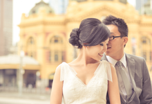Destination Melbourne - Celebrating Billy & Pooi Sann by Andrew Yep Photographie