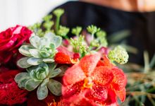 Sultry Marsala Wedding Inspiration by Tony Gigov Photography