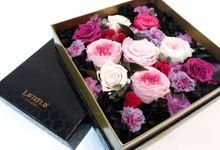 Preserved Flower Frame & Box Art by BloomBack