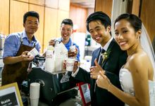 Mobile coffee for weddings by Olla Specialty Coffee