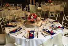 Wedding Table Setting by Cheong Fatt Tze - The Blue Mansion
