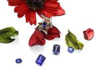 Blue Sapphire Ring by GIOIA FINE JEWELLERY