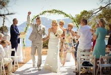 Ibiza Cala Pada Beach Santa Eularia by Ibiza-Bali Wedding Photography