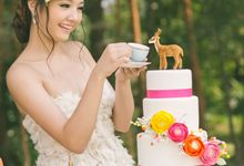 Bohemian Glamour Deer-Inspired styled shoot by Awesome Memories Photography