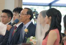 Brandon & Xing Zhi // split day wedding // holy matrimony // wedding lunch // next day edit wedding highlight by Teck Kuan // 2014 by The Next Chapter Film