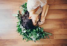 Dreamy Bridal Boudoir Styled Shoot by The Glamour Co.