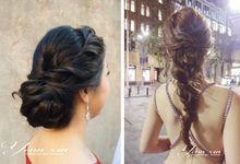 Wedding Hairstyle by Yenn xin Makeup artist
