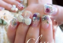 Exotic Bridal Nails by Home Nails