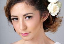 Romantic Bride Look by Arini Makeup Artist