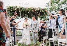 Wedding of Megan & John by Lily Wedding Services