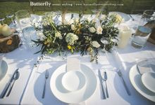 Rustic by the Beach by Butterfly Event Styling
