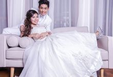 Bridal Makeup and Hairstyling for Pre-Wedding Shoot - Chic and Elegant by Sylvia Koh Makeup and Hairstyling